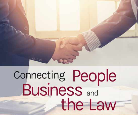 Connecting People with Business and the Law