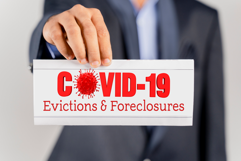 covid evictions and foreclosures